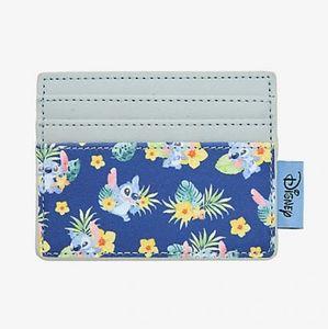 Loungefly Disney Tropical Stitch Cardholder Wallet